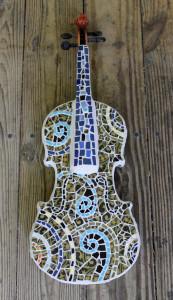 Mosaic Violin