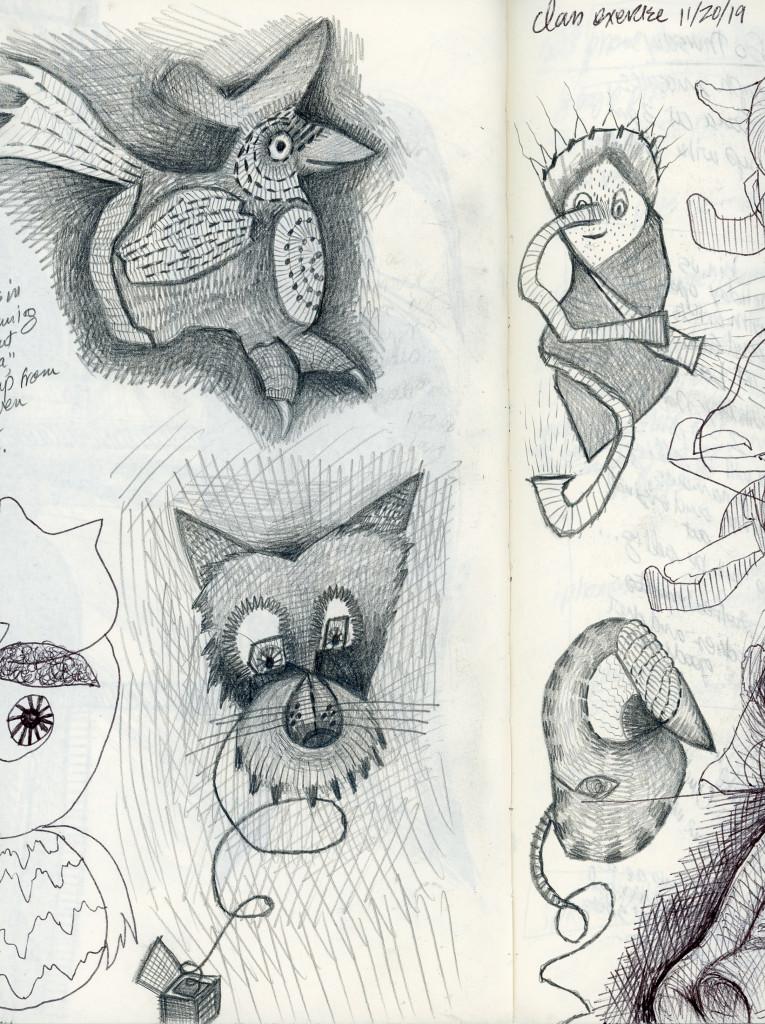 Doodle-creatures